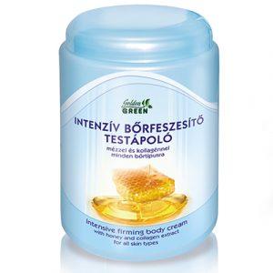 Golden Green Intenzív bőrfeszesítő testápoló - mézzel és kollagénnel minden bőrtípusra 1000ml